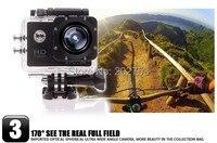 доставка sj4000 1080 p полный HD спорта камеры SL автомобильный нарушителя diving vaccine действие кулачок камеры действий камеры водонепроницаемый q3051b