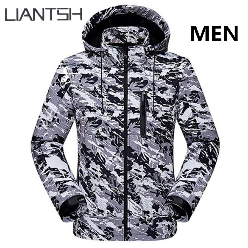 Tactical Military Windproof Waterproof Softshell Jackets Men ,Camping Hunting Fishing Winter Warm Women Outdoor Hiking Jackets new arrived outdoor waterproof windproof jackets men mountain campling hiking fishing running sportswear tactical jackets