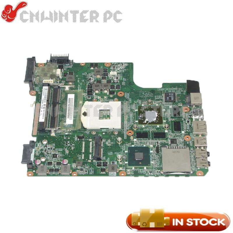 NOKOTION DATE2DMB8F0 A000073510 Laptop Motherboard For Toshiba satellite L645 L640 System board HM55 DDR3 HD5650 GPU nokotion 4cmfg niwe1 laptop motherboard for lenovo g460 g460a la 5751p hm55 chipest nvidia geforce 310m gpu ddr3