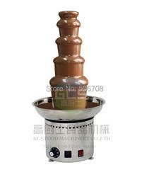 Бесплатная доставка Нержавеющаясталь 304 5 TiersCommercial шоколадный фонтан рождественское свадебное события вечерние поставки