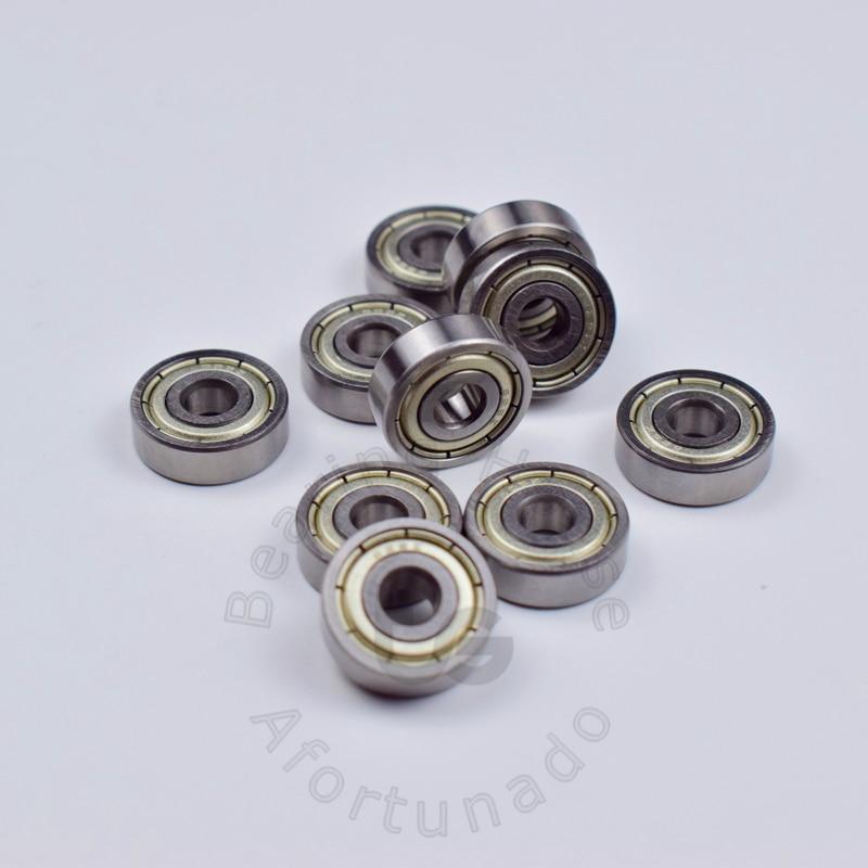 Купить с кэшбэком 625 625ZZ 5*16*5(mm) 10pieces bearing free shipping ABEC-5 bearings metal Sealed Bearing 625 625Z 625ZZ chrome steel bearing