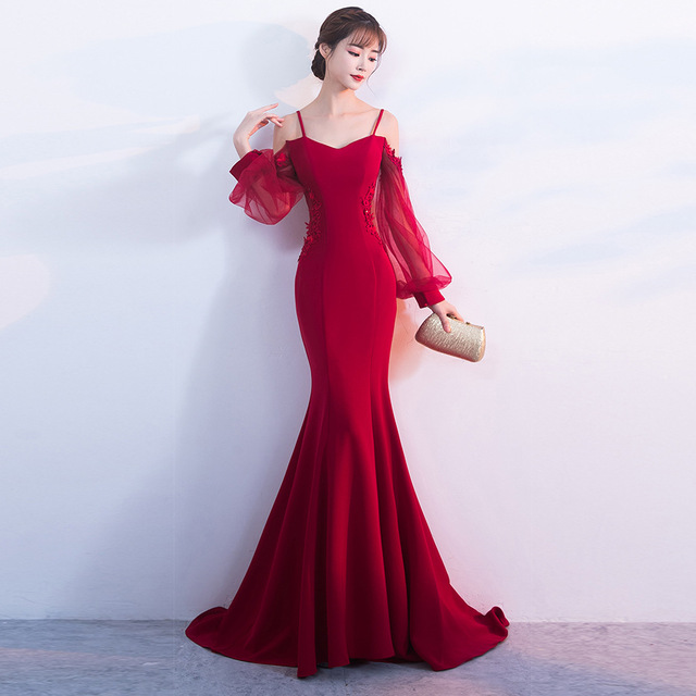 2017 Evening Party Sexy Dresses Maxi Long Women Plus Size Bodycon Autumn Winter Club Christmas Vintage Red Bandage Formal Dress