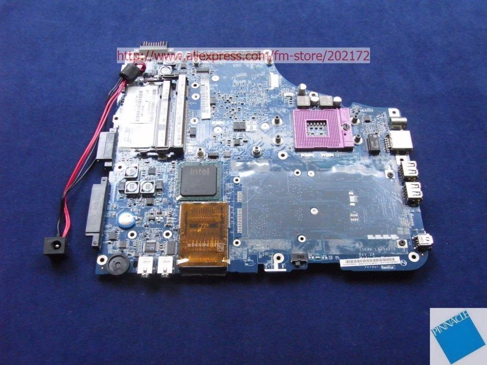 K000070240  Motherboard for Toshiba Satellite A200 A205  LA-3481P ISKAA LAK tested good