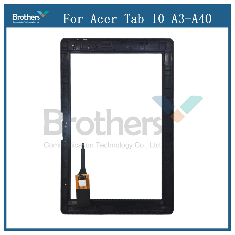 цена на Tablet Touch Screen For Acer Iconia Tab 10 A3-A40 Digitizer Front Glass Panel Replacement 10.1'' Display For Acer A3-A40 Screen