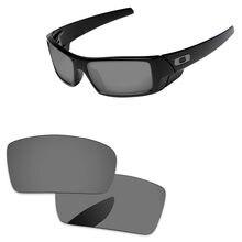a42d0f9aab Cromo Negro espejo polarizadas lentes para Gascan gafas de sol marco 100%  UVA y UVB protección