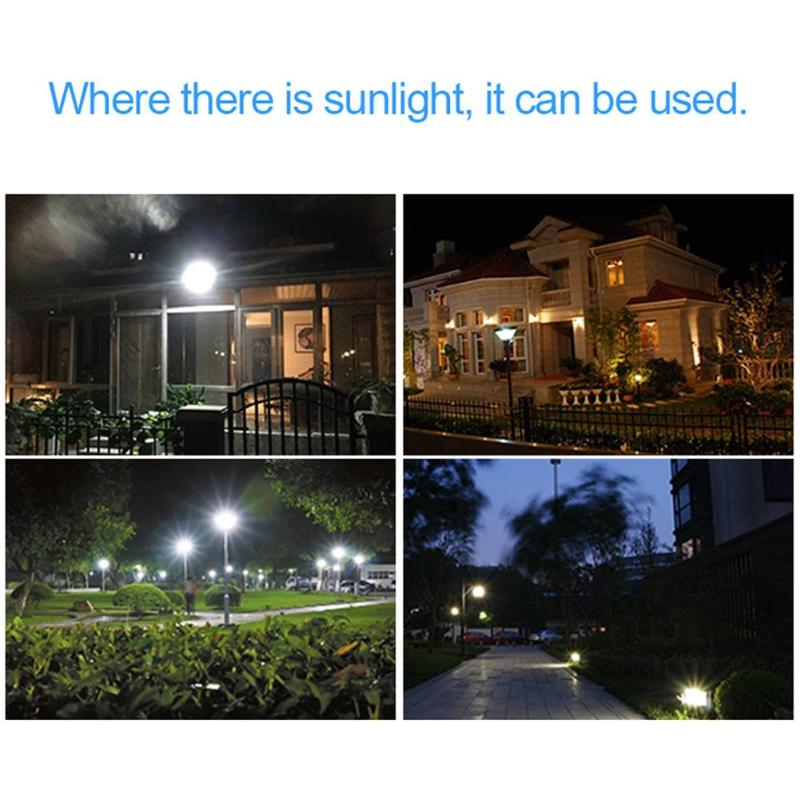 10W 20LED Solar Powered Sensor Lamp Outdoor Garden Path Street Spotlight Security Wall Light Waterproof IP66 Modern FloodLight ...