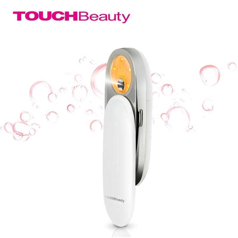 TOUCHBeauty Facial Steamer, Portable Water Mist Sprayer Light 590 Whitening Moisturizing Exfoliating Beauty Skin Device TB-1185