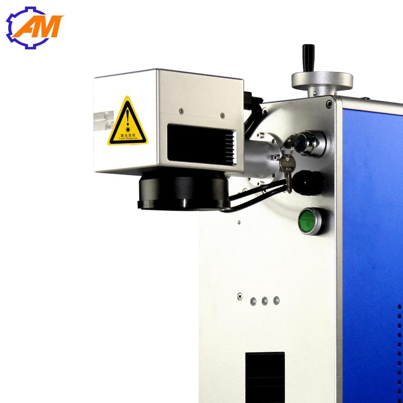 Macchina per marcatura laser per fibra ottica con marchio auricolare per gioielli, montature per occhiali, rapporto qualità-prezzo