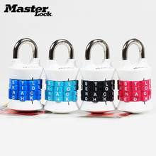 Master Lock Digit Combination Password Lock Zinc Alloy Security Lock Suitcase Luggage Coded Lock Cupboard Cabinet Locker Padlock zinc alloy automatic 9 digit numbering stamp machine