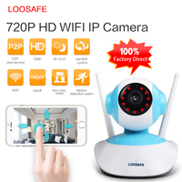 LOOSAFE 960P HD IP Camera WIFI Onvif 2 4 P2P For Smartphone Waterproof Vandalproof Support 128G