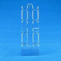 5 пластик часы выставочная витрина стойка держатель для 4 шт