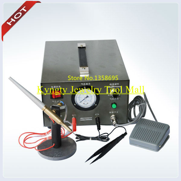 HOT!!! 110V Electric & Argon Gas Welding Machine, Pulse Sparkle Welder for Jewelry цена