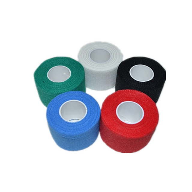 4 rolls Gauze Golf Tape  G-tape Ice Hockey Grip Tape Good Grip Hockey Goves Prevent Ice Hockey Tape