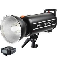 Godox QT1200IIM QT1200 II Flash Head 1200Ws HSS 1/8000s High Speed Sync Strobe Light With X1 Transmitter For Sony Canon Camera