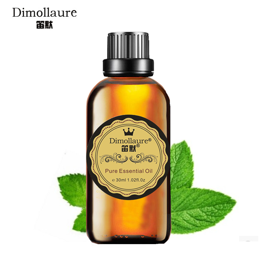 Dimollaure Peppermint Essential Oil 30mlEliminate Fatigue Aromatherapy Refreshing Air Inspiring Spirit Helpful To Colds Headache