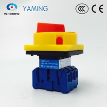 YMD11-32A 3P 690V on-off isolator switch with pad lock rotary cam disconnect high voltage control