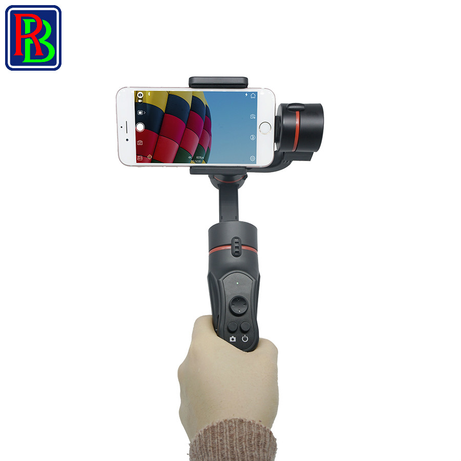 Raybow S4 handheld 3 axis gimbal stabilizer for camera phone font b Smartphones b font Live