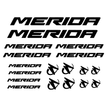 Custom Bicycle Vinyl Decal Sticker For MERIDA Decor , PEGATINAS STICKERS VINILO LAMINA BIKE BICI FOR MERIDA цены