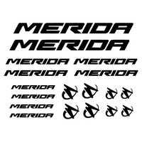 Etiqueta engomada del VINILO de la bicicleta personalizada para la decoración de Mérida, PEGATINAS de PEGATINAS VINILO LAMINA bicicleta BICI para Mérida