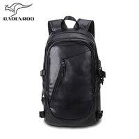 Badenroo Brand Men Backpack School Bag Laptop Backpack Large Capacity Men Leather Backpacks for adolescent Men Casual Daypacks