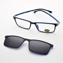 Ultra-light Glasses Magnet Clip Sunglasses Myopia Polarized Functional  Ultem Uv 400 jkk042