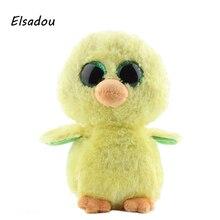 Elsadou Ty Beanie Boos Stuffed Plush Animals Yellow Duck font b Toy b font Doll