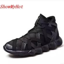 ShowMyHot; Новинка; мужские кроссовки; Deportivas; дизайнерская дышащая сетчатая обувь; лоферы; светильник; мягкая парусиновая обувь на плоской подошве