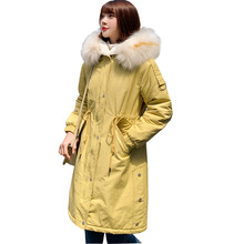 Winter Jacket Women Long puffer Thick Coat Hooded Parka Warm Female women Clothes coat female oversized winter