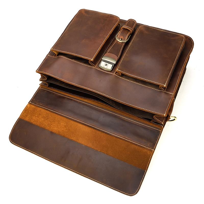 HTB1qwBAQHrpK1RjSZTEq6AWAVXa5 MAHEU Luxury Fashion 100% Genuine Leather Men Briefcase Cow Leather Laptop Bag Vintage Shoulder Bag Real Cowhide Computer Bag