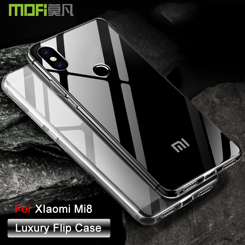 Legend Coupon Xiaomi-Mi-8-Case-xiaomi-mi8-case-Cover-Transparent-Ultra-Slim-xiaomi-mi8-SE-Case-Back