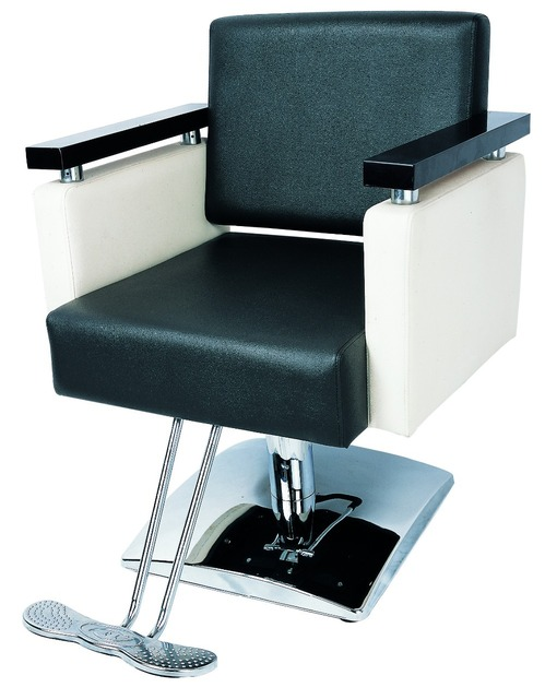 2015 Sensible Blacku0026white Ladies Portable Barber Chair/Modern Barber Chairs  For Sale