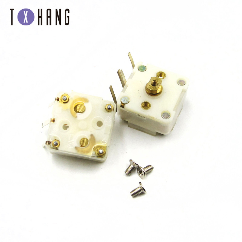 2PCS 223F Style Dual 20pF PCB Trimmer Tuning Variable Capacitor