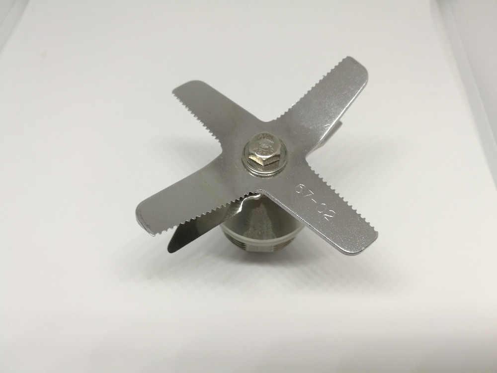 Cayetano-TM 767 de 800 (67-02) cuchillas cuchillo trituradora de hielo para licuadora piezas de repuesto acero inoxidable endurecido seis mezclas