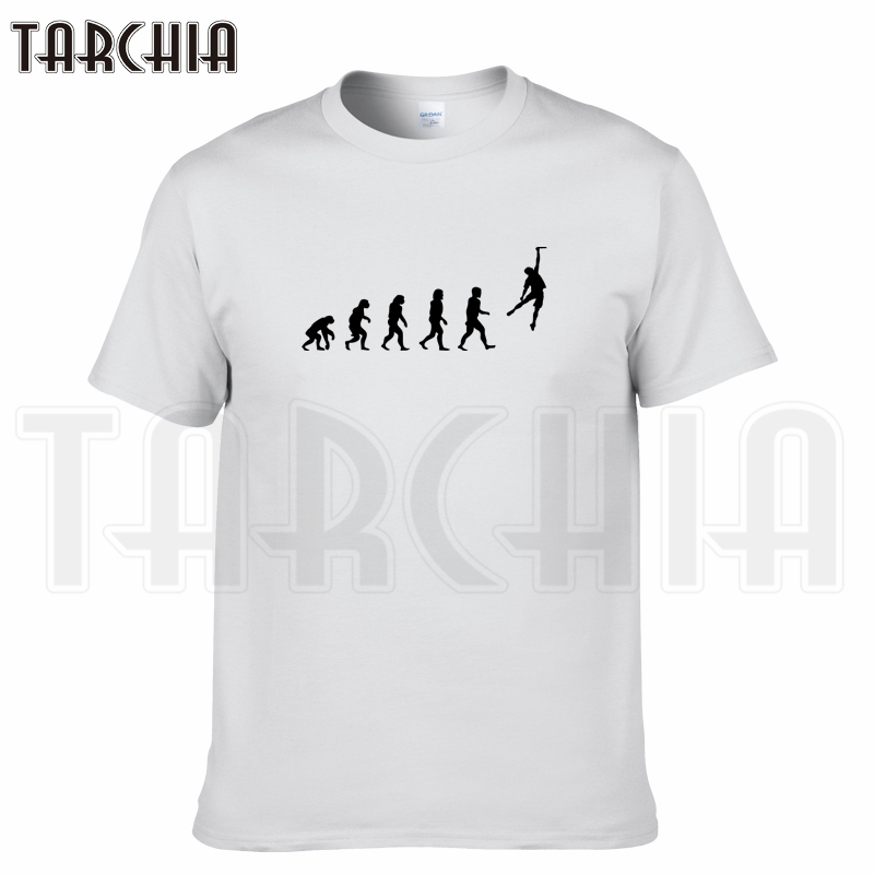 TARCHIA 2018 fashion new summer brand evolution dunk t-shirt cotton men short sleeve boy casual homme tshirt t tops tees plus