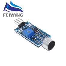 1PCS 3pin Voice Sound Detection Sensor Module Intelligent Smart Vehicle Robot Helicopter Airplane Aeroplane Car(China)