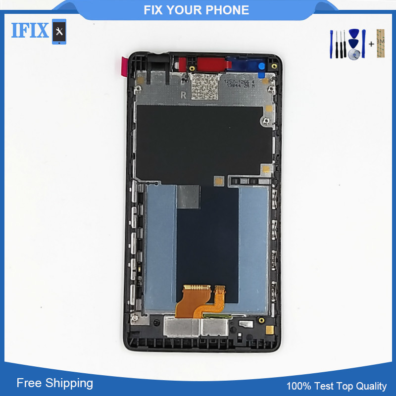 For Sony Xperia T LT30 LT30i LT30P LCD Display with Touch Screen Digitizer Assembly 1280x720 LCD with Bezel Frame