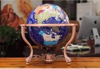35 см Высокое качество топ бизнес искусство для дома, офиса, школы лучшее украшение ручной работы 3D кристалл драгоценный камень Глобальный Т