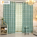 DIHIN New Arrival 1 PC European Jacquard Pattern Luxury Curtains for Bedroom Window Curtains for Living Room Ready Made Product