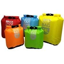 1 шт Водонепроницаемый сухой мешок пакет плаванье рафтинг сумки для путешествия на каяках треккинг плавающий парусный спорт каноэ хождение воды Сопротивление Гермомешки