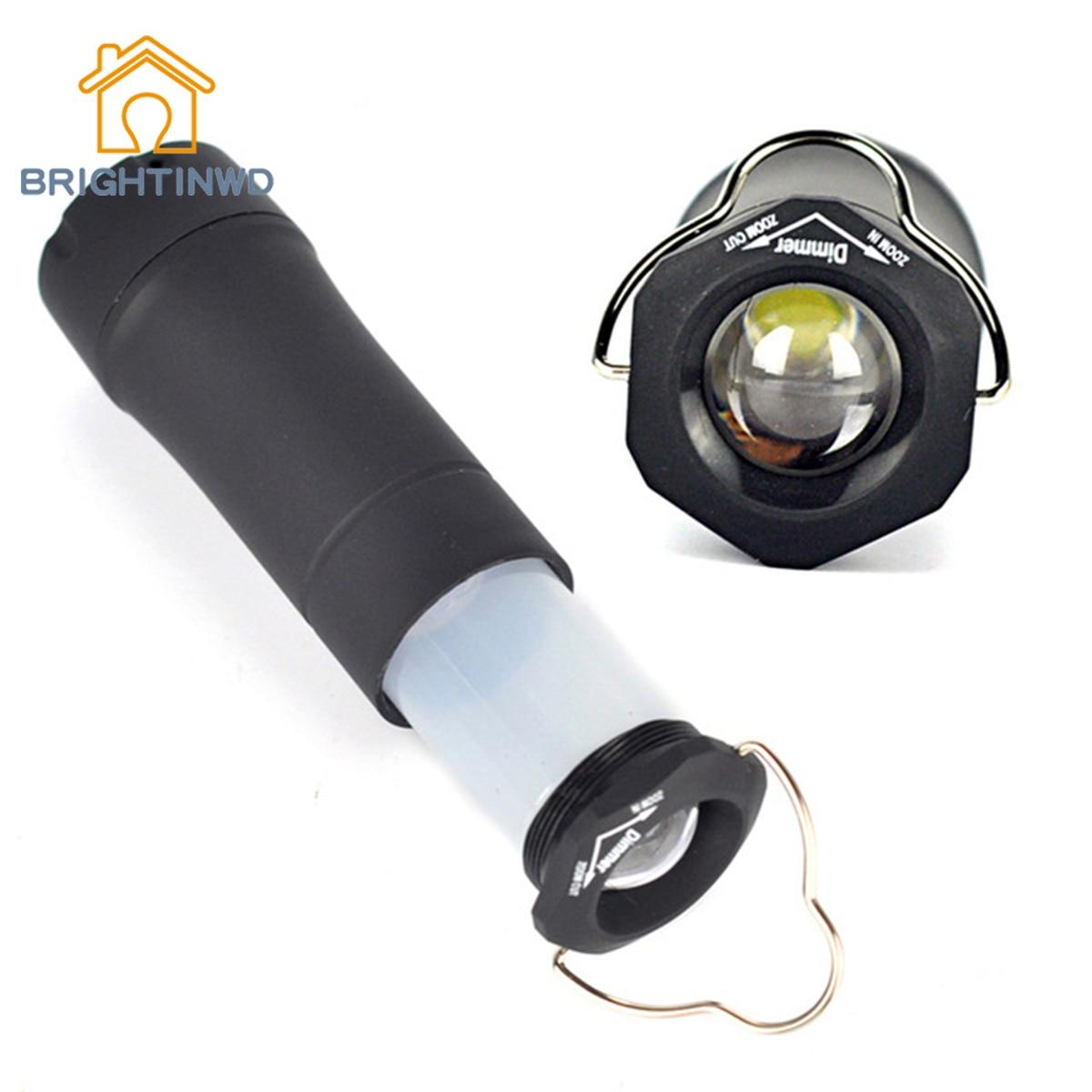 BRIGHTINWD 500LM LED Portable Lanterns 3-Mode Zoom Flashlight Camping Tent Lantern Light High Quality Camping Light Led Fener