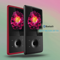 MU1036 Bluetooth MP3 Player With 8GB 1 8 Inch Screen MP3 Stereo Music Player Color Of