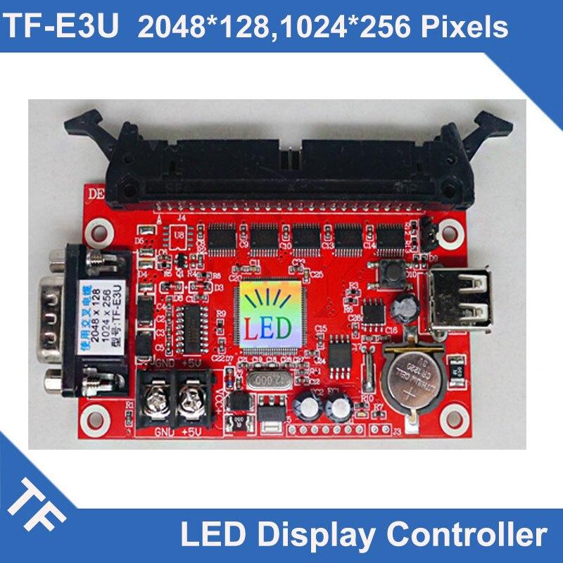 TF E3U TF E6UR Instead control card Longgreat TF LED Display Control Card USB Serial Port