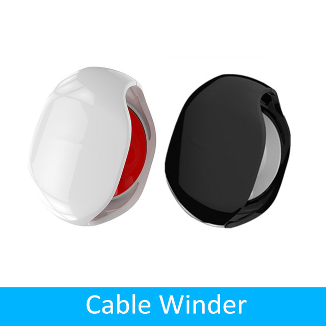 Auto Cable Cord Wire Organizer Bobbin Winder Smart Wrap For Headphone In Ear Earphones