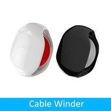 Enrolador de bobina do organizador do fio do cabo automático envoltório inteligente para o fone de ouvido em fones de ouvido