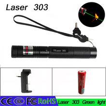Cheaper Litwod z30303 Military 532nm 5mw 303 Green Laser Pointer Lazer Pen Burning Beam for 18650 Battery Charger Burning Match