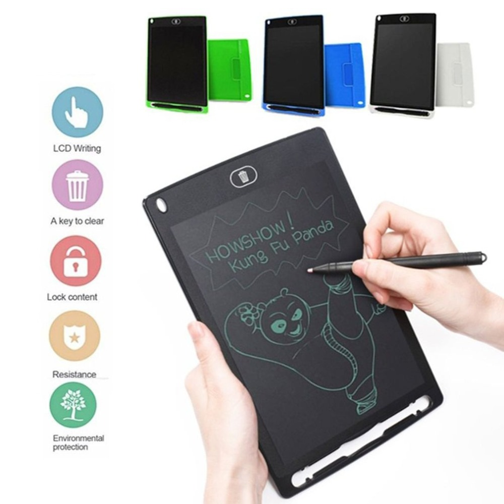 Digital LCD Writing Board Creative Writing Drawing Tablet Pad 8.5 Inch Notepad Graphic Board Handwriting Graphic Bulletin Board