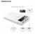 Pisen 18650 banco do poder lcd 20000 mah powerbank rápido chargeing dual usb bateria externa para samsung xiaomi huawei telefones celulares