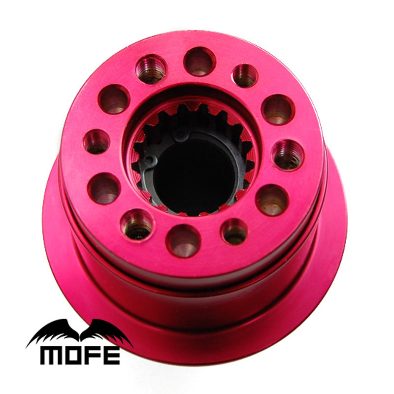 3 Hole Splined Type Anti theft Steering Wheel Quick Release For Standard 3 Bolt American Type