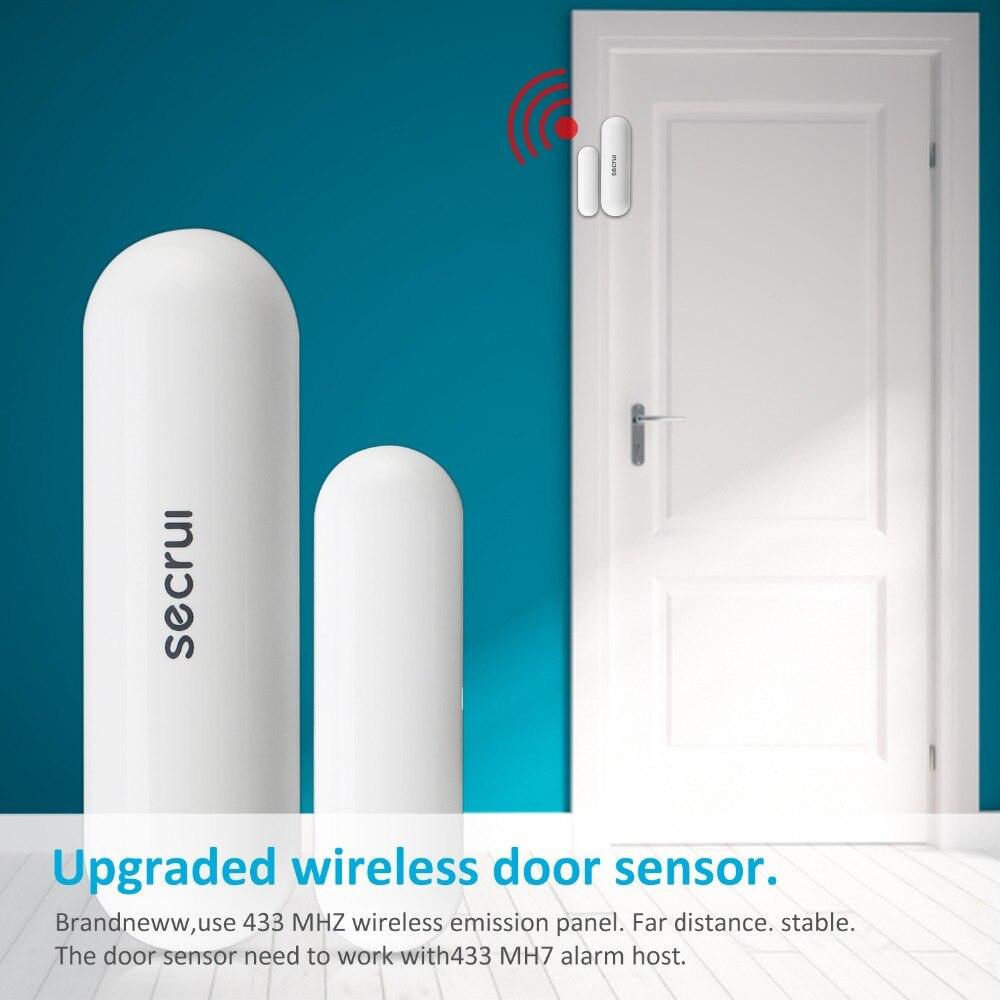 Fenster Tür Sensor Haus Alarm 433 mhz G90b Einbrecher Alarm Garage Alarm Für Smart Home Drahtlose Alarm System Secrui D026