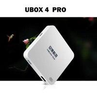 2018 ubox OS Pro зарубежных версия HDMI 2,0 ubox4 ТВ box для Android 7,0 1 ГБ + 16 ГБ с бесплатный подарок